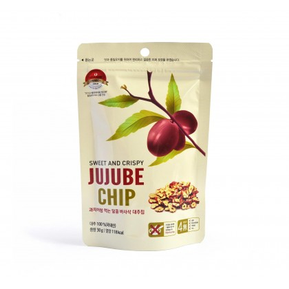 100% Pure Premium Dodum Korean Crispy Red Dates Chips / Jujube Chips 30g - Buy 1 FREE 1