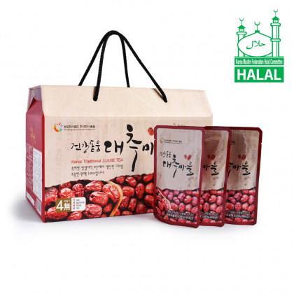 100% Pure Premium Dodum Korean Red Dates Juice/ Jujube Juice/ Jujube Tea Set 100ml x 30packs