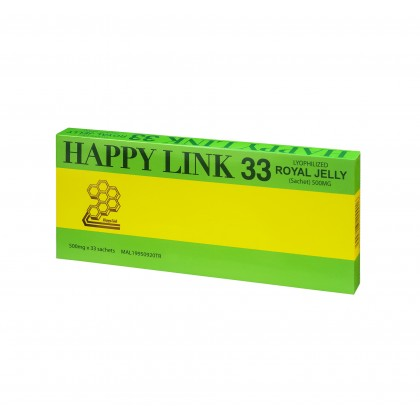Happy Link Royal Jelly 500mg x 33sachets