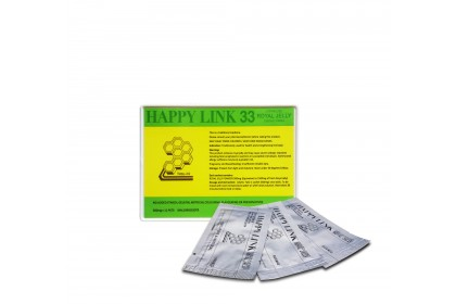 [BUY 5 FREE 1] Happy Link Royal Jelly 500mg x 33sachets x 6 Boxes