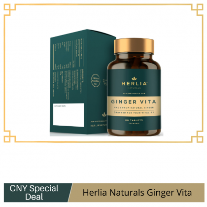 Herlia Vita Ginger 60 tablets x 30g