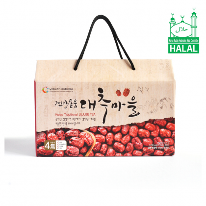 100% Pure Premium Dodum Korean Red Dates Juice/ Jujube Juice/ Jujube Tea Set 100ml x 30packs x 2