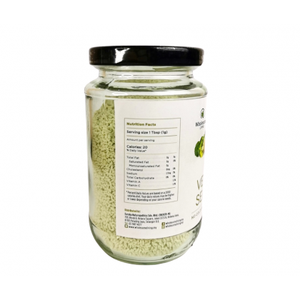 Wholesome Living Real Vegetable Seasoning Powder 150g (No MSG. Real Food)