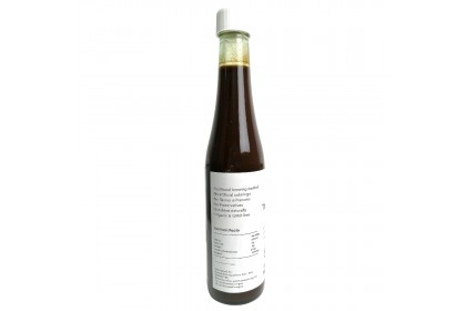 Wholesome Living Organic Black Bean Soy Sauce (Thick)  - [Traditional, Sun-dried, No MSG]
