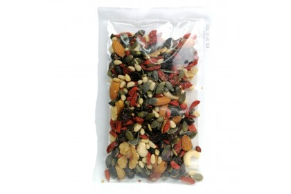 GO Wholesome (Mix Fruits & Nuts) 100g x 2 - [Raw & Natural Healthy Snack]