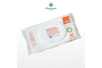 Virox Multi-Surface Sanitizing Wipes 60s (Food Contact Safe)