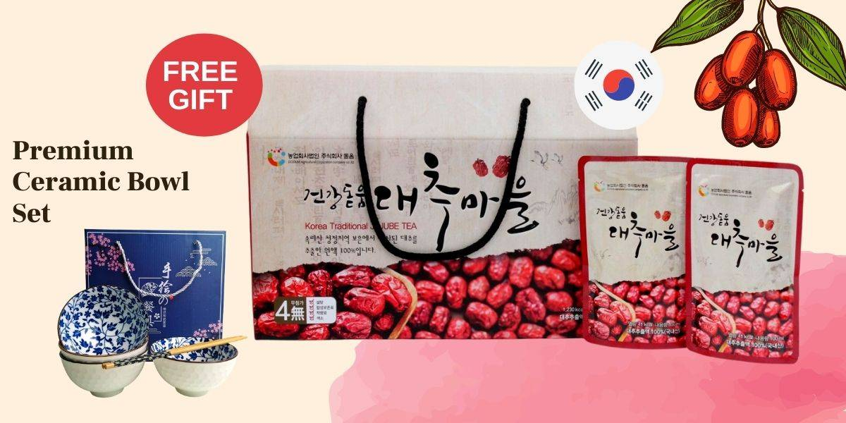 Dodum Jujube Twin Pack with Purchase Deal