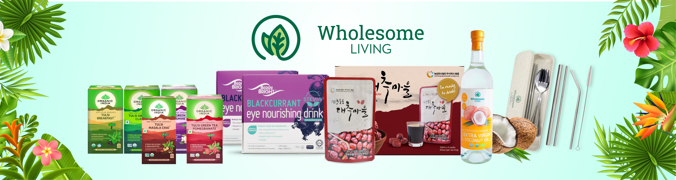 Wholesome Living Natural Health Online Store